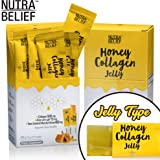 Nutra Belief Daily Edible Collagen Peptides Jelly Supplement, Better Than Gummies, Boosts Natural Skin