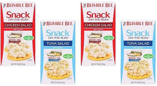 Amazon Com Bumble Bee Tuna Salad Chicken Salad With