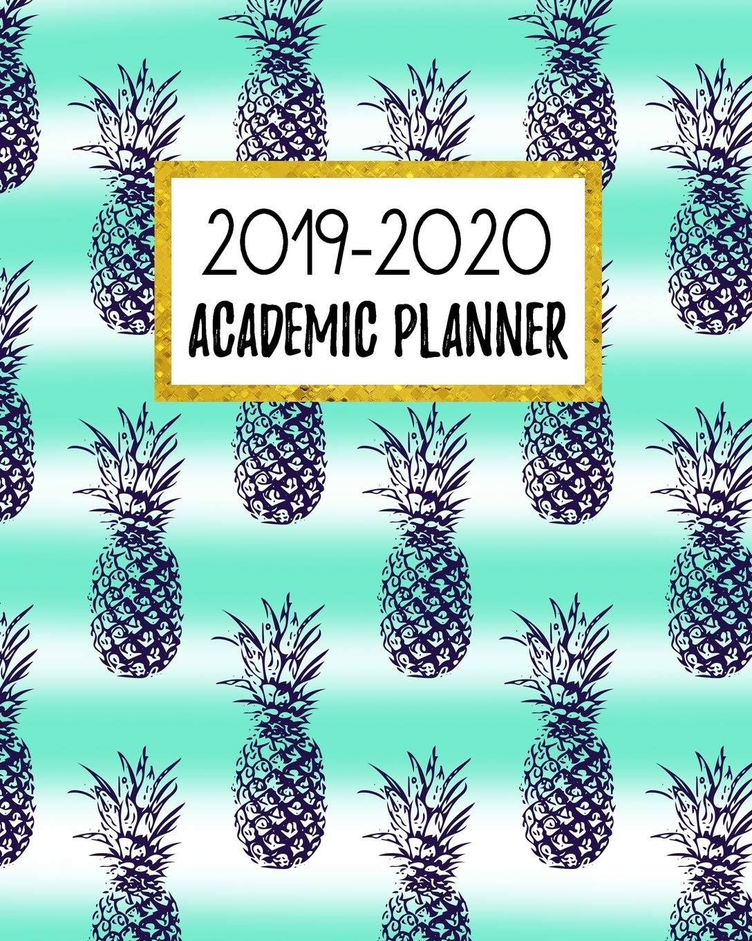 2019-2020 Academic Planner Weekly and Monthly Dated Calendar Class Timetable With To Dos /& Notes July 2019 Daily June 2020 V9