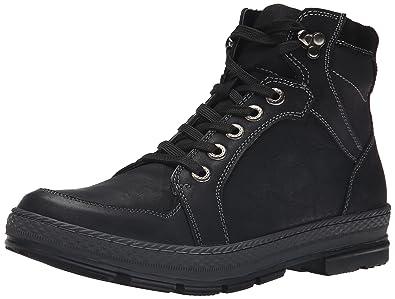 Steve Madden Men's Lennd Fashion Sneaker, Black, ...