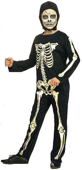 Rubies - Disfraz Oficial de Halloween, diseño de Esqueleto de casa (niño)