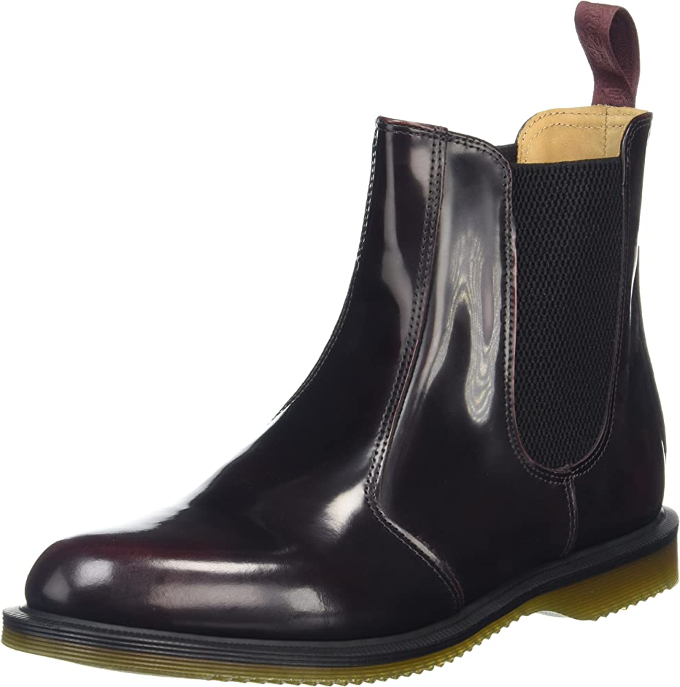 Flora Leather Chelsea Boot