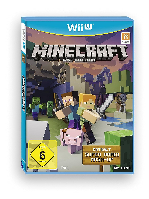 Minecraft Wii U Edition Inkl Super Mario MashUp Nintendo Wii U - Minecraft spiele fur handy