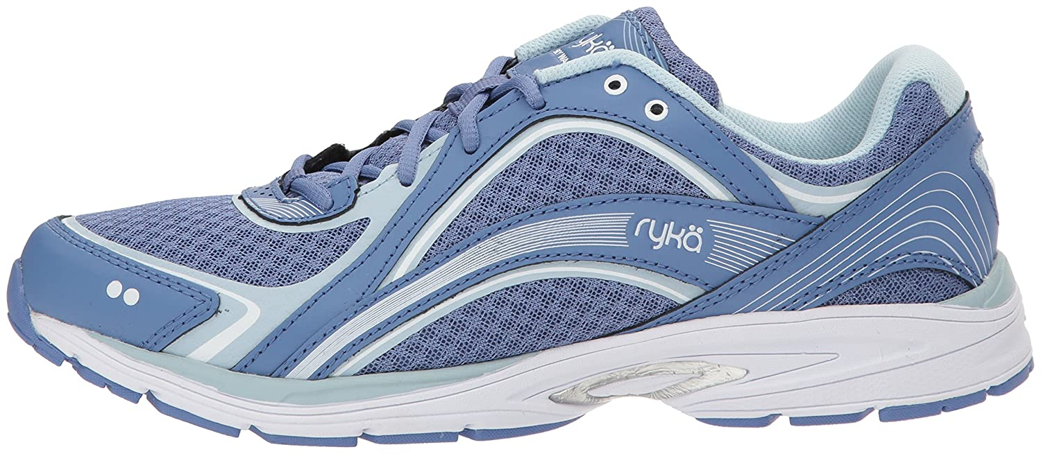Ryka Women's Sky Blue/Soft Walking Shoe B07577X9YY 9 W US|Colony Blue/Soft Sky Blue/Chrome Silver 4d999b