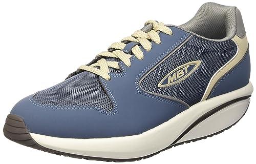 MBT 1997 - Zapatillas de deporte, con tobillo descubierto Hombre, Multicolor (China Blue/Cement), 40 UE: Amazon.es: Zapatos y complementos
