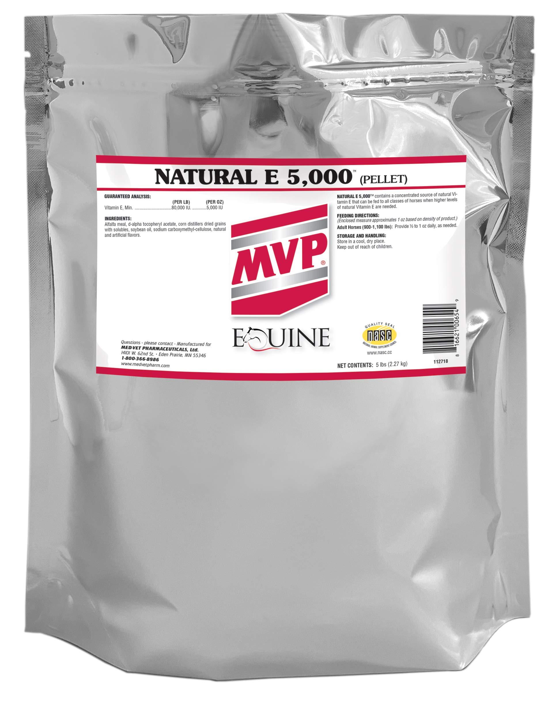 Med-Vet Pharmaceuticals Natural E 5,000 (5lb) by Med-Vet Pharmaceuticals