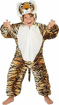 Generique - Disfraz Tigre niño 3-4 años (98-104 cm): Amazon.es ...