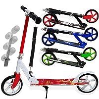 Kesser Scooter Roller Cityroller Kinderroller Tretroller Kickroller Kickscooter, Kinder 205mm klappbar ABEC7 Kugellagern Design