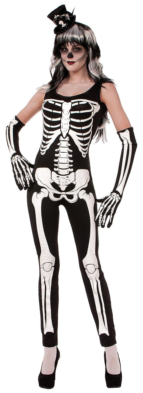 sc 1 st  Amazon.com & Amazon.com: Forum Novelties Womenu0027s Skeleton Jumpsuit: Clothing