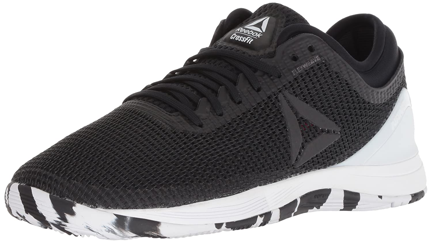 Reebok Women's Crossfit Nano 8.0 Flexweave Cross Trainer B077ZJGQB9 10 B(M) US|Black/White/Twisted Pink
