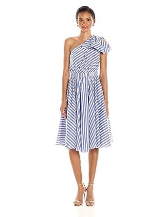 Milly Women's Anna Dress, Blue, 2