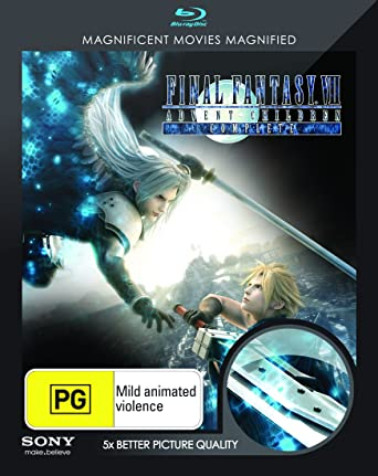 Amazon com: Final Fantasy VII Advent Children | English
