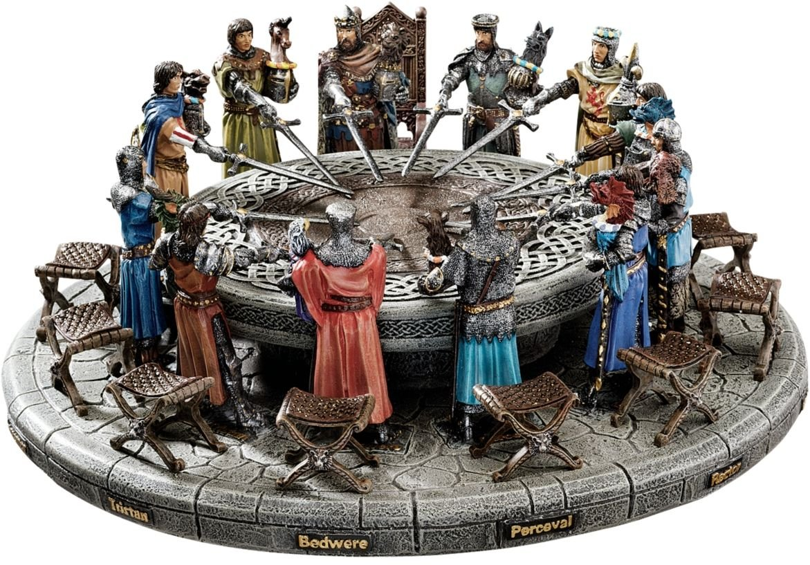amazon com 5 medieval king arthur and knights of round table rh amazon com the round table 1992 the round table youtube
