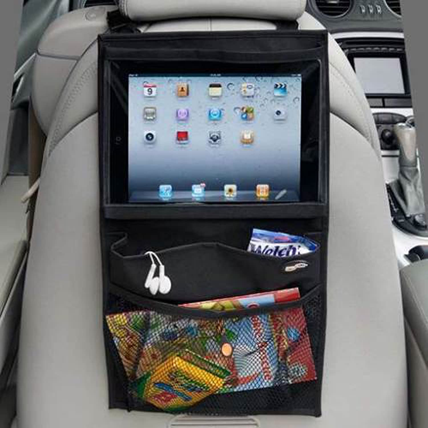 MaxAike 1 Multipurpose Universal Backseat Car Baby Stroller Organizer Ipad Seat Storage Fit for Car Truck and SUV