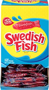 Swedish Fish Mini Soft & Chewy Candy, 240 - 0.21 oz Packs