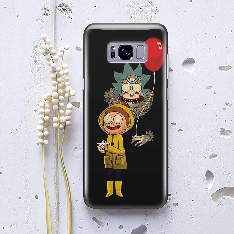 new style dc3f9 bb273 Mort and Rick Samsung Galaxy Case for Samsung Galaxy S10 S10 Plus S10 Lite  S8 Plus S7 Edge S5 S6 Edge Plus Note 8 5 Cases Fandom Wubba Lubba Dub Dub  ...