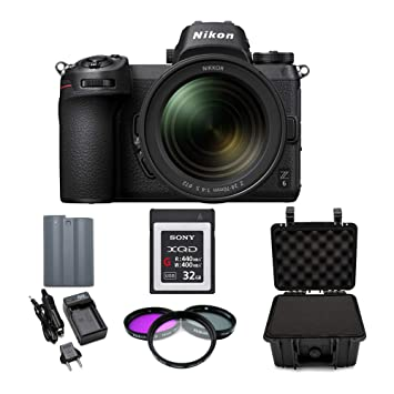 Amazon.com: Nikon Z6 cámara digital sin espejo con lente de ...