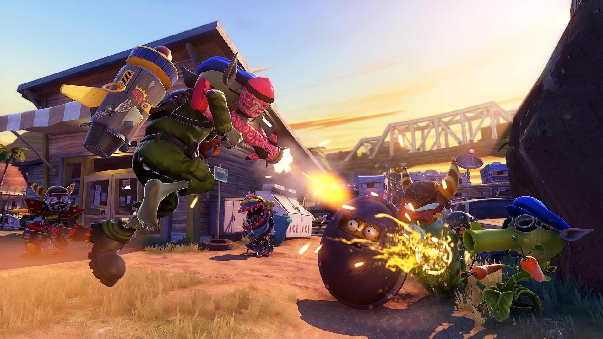 Plants vs Zombies Garden Warfare(Online Play Required) - PlayStation 3