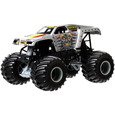 Hot Wheels Monster Jam Maximum Destruction Die-Cast Vehicle, 1:24 Scale: Toys & Games