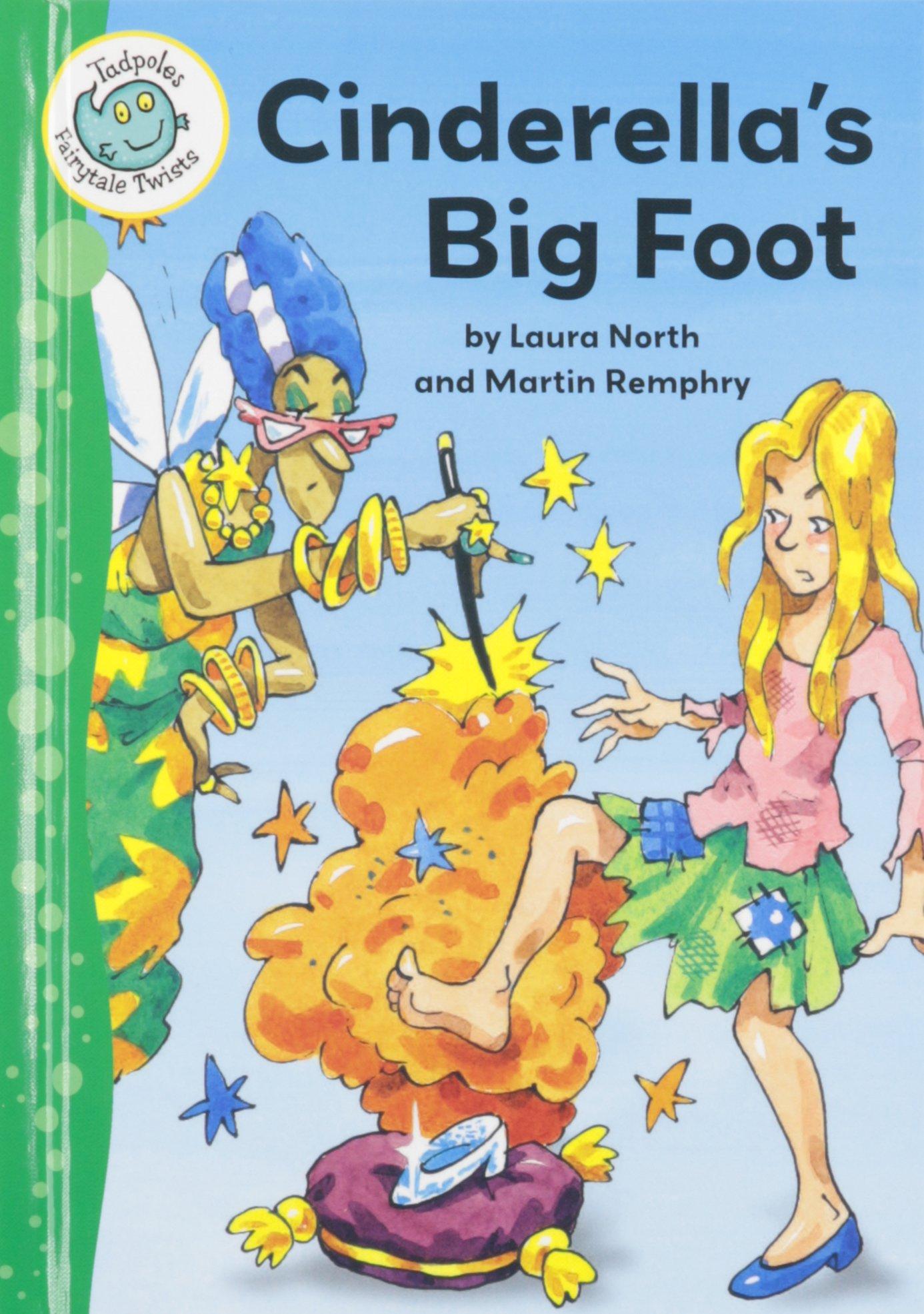 Download Cinderella's Big Foot (Tadpoles: Fairytale Twists) pdf
