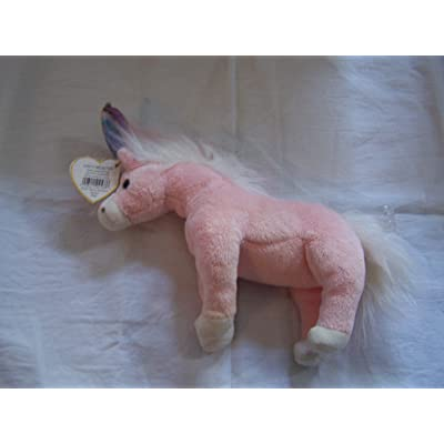Ty Beanie Babies Charmer the Unicorn Retired: Toys & Games