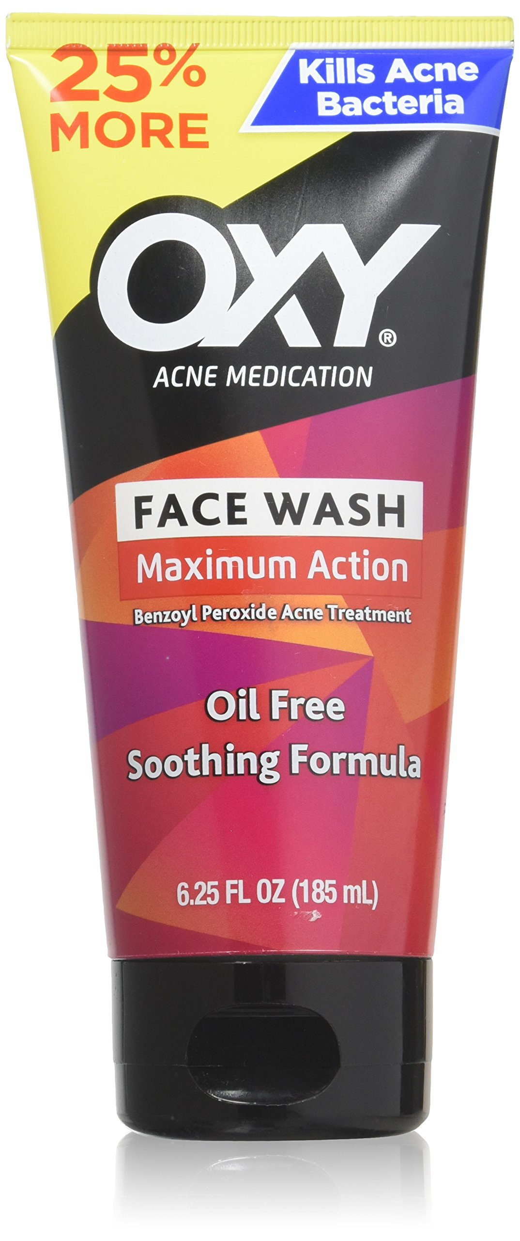 Oxy Maximum Action Face Wash, 6.25 Ounce