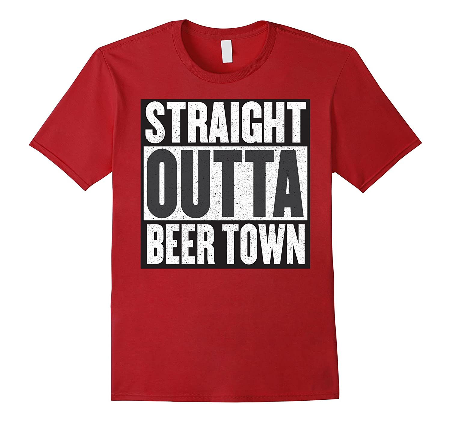 """""""Straight outta Beer Town"""" – most awesome beer t-shirt"""