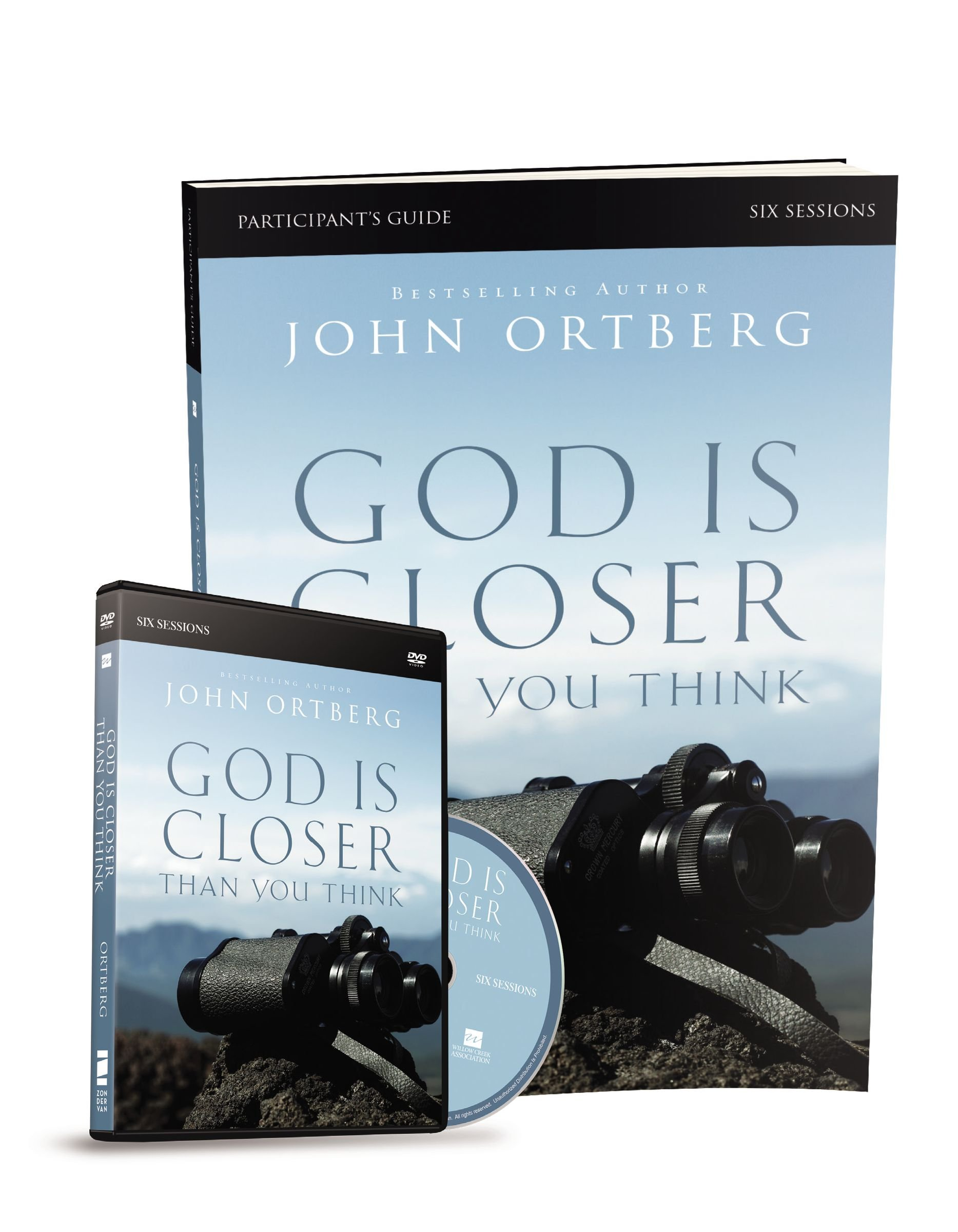 God Is Closer Than You Think Participant's Guide with DVD