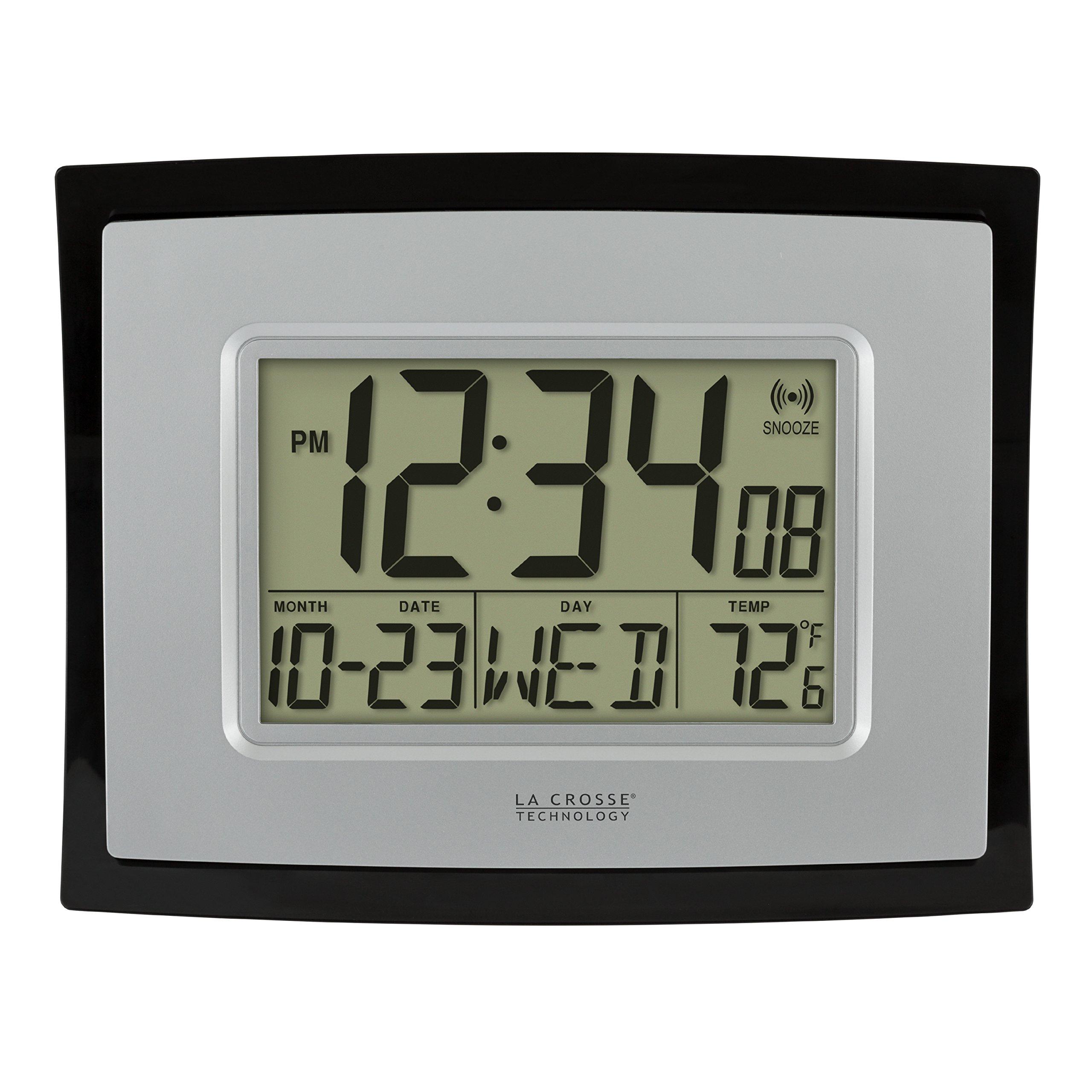 Amazon.com: La Crosse Technology WT-8002U Digital Wall Clock: Home & Kitchen