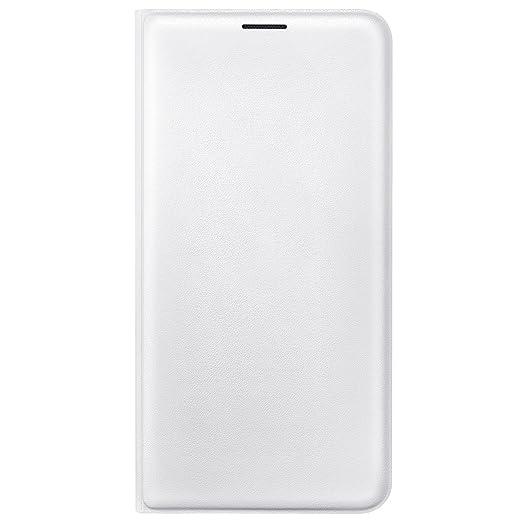 5 opinioni per Samsung EF-WJ710PWEGWW Flip Wallet per Galaxy J7 2016, Bianco