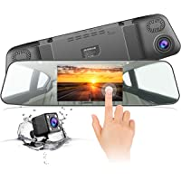 Jeemak 1080p Front & Rear Dash Cam with 4.3