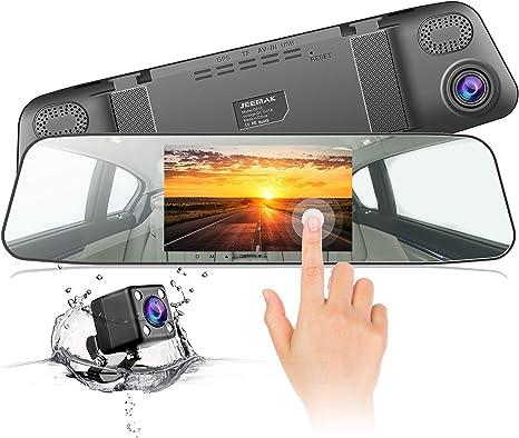 Toguard Mirror Dash Cam telecamera posteriore di backup retromarcia telecamera posteriore