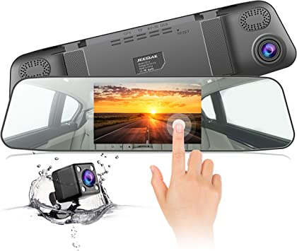 Dashcam Jeemak Rückspiegel Monitor Autokamera 4 3 Zoll Elektronik