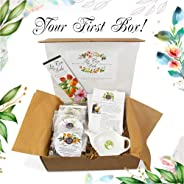 La Tea Dah All Natural Premium Tea Subscription Box, Experience Hand Crafted Extraordinary Flavors, Pyramid Te