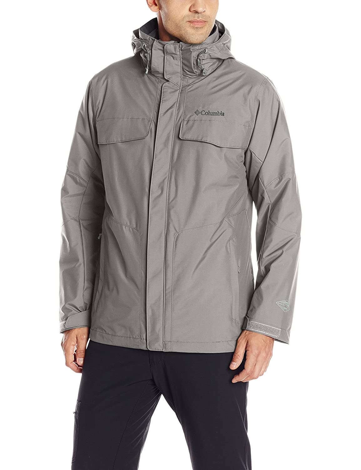 Columbia Sportswear Men's Bugaboo Interchange Jacket with Detachable Storm Hood Columbia (Sporting Goods) WT1053-866