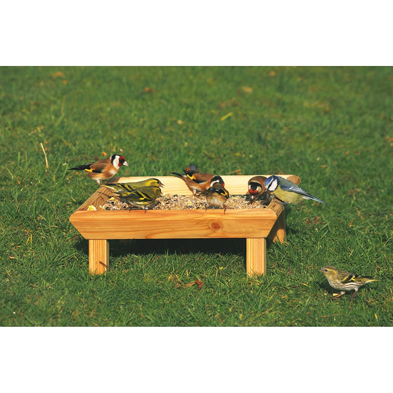 C J Square Ground Bird Feeding Table UTVP1262_1