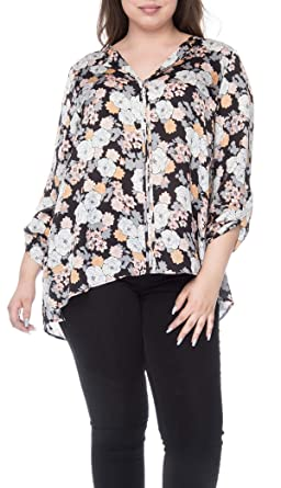 38ecc60d6ad Bobeau Cristy Plus Size Pleat Back at Amazon Women s Clothing store
