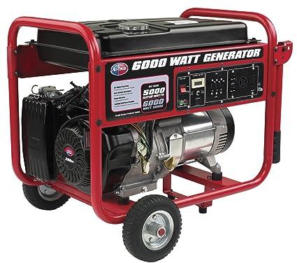 amazon com all power america apgg6000 6000w watt generator rh amazon com Manual Generator Circuit Diagram Electric Generator Diagram