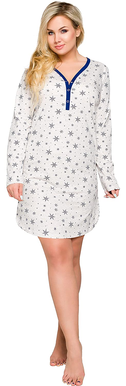 Merry Style Chemise de Nuit Grande Taille Robe Nuisette Lingerie V/êtements Femme 2127