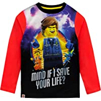 LEGO Movie Boys Long Sleeved Top Red Size 11