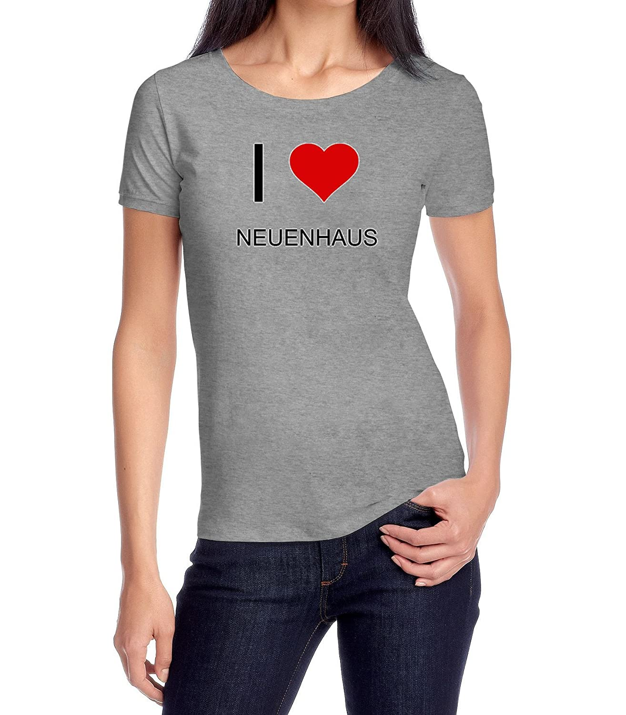 db292b3efc34 I Love NEUENHAUS Womens Classic T-Shirt XX-Large  Amazon.de  Bekleidung