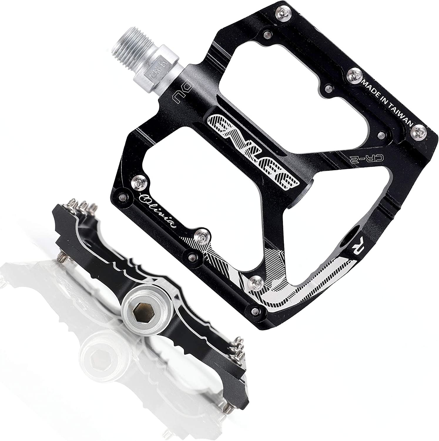 Specialized Alloy Fitness bicycle bike Pedals 9//16