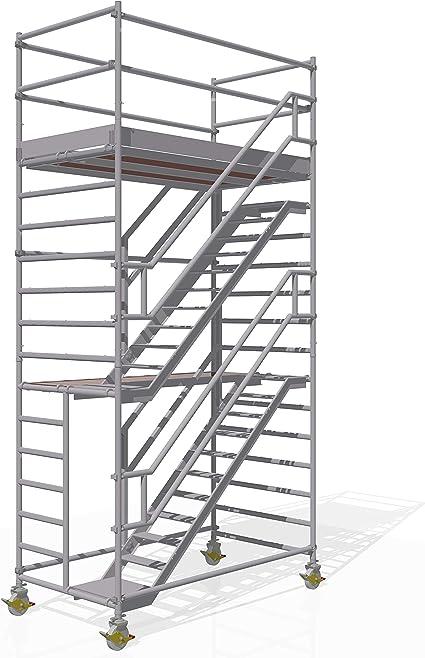 Altec para torre de aluminio de altura de 6,3 M, igualdad de Madera