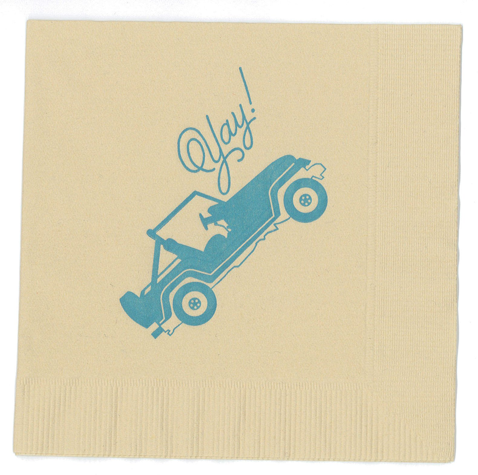 Jeep Party Napkins made in America by REVEL & Co