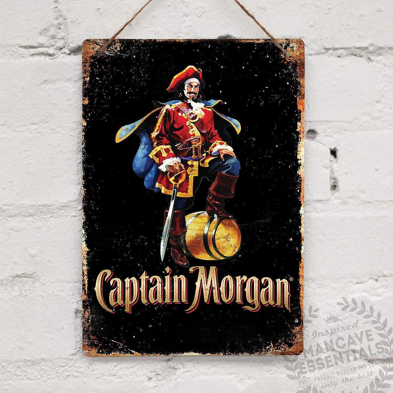 New Design 24 inch diameter metal sign Captain Morgan Sign