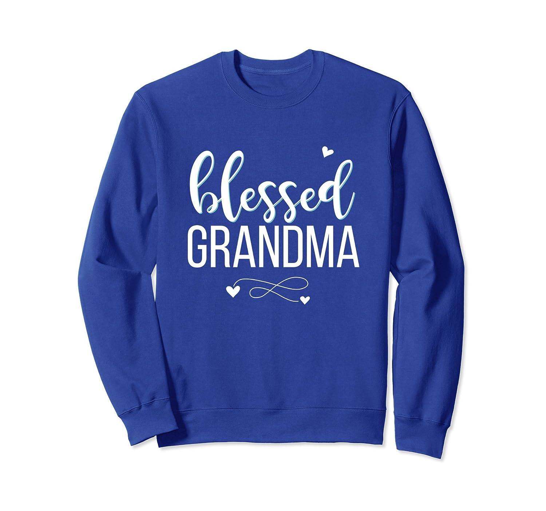 Blessed Grandma Cute Heart Christian Sweatshirt Gift Apparel-ah my shirt one gift