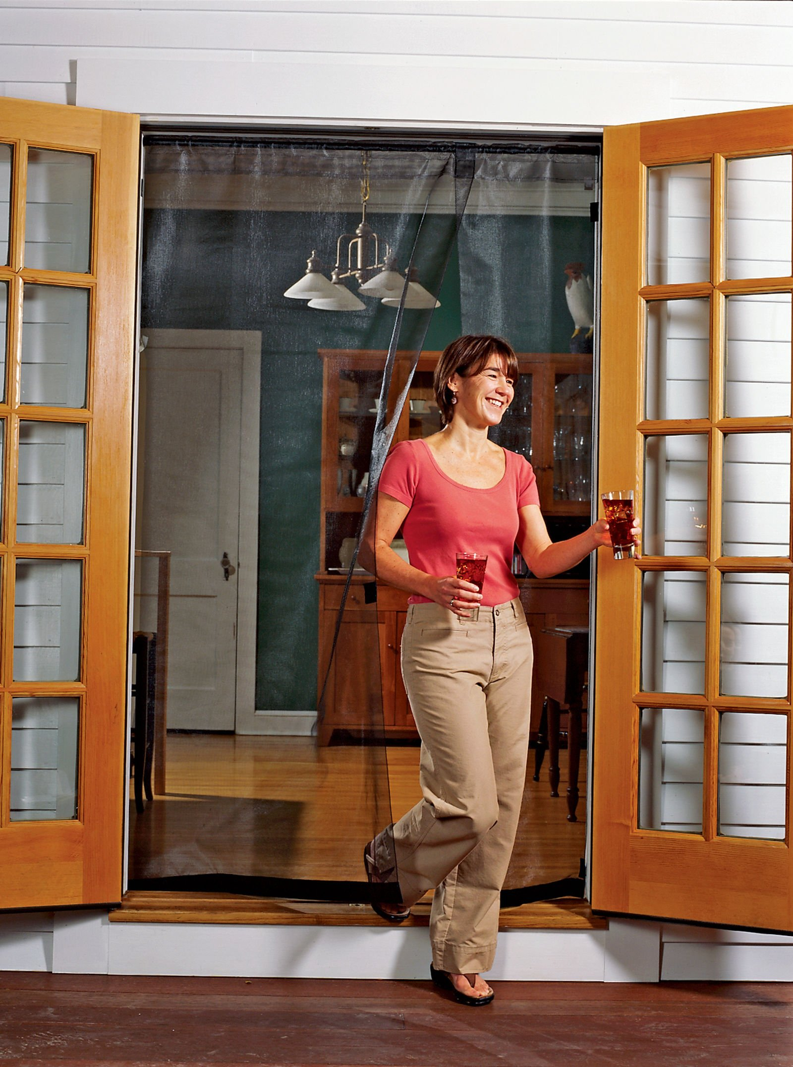 Bug Off 72r By 80 Instant Screen Reversible Fits French Doors And