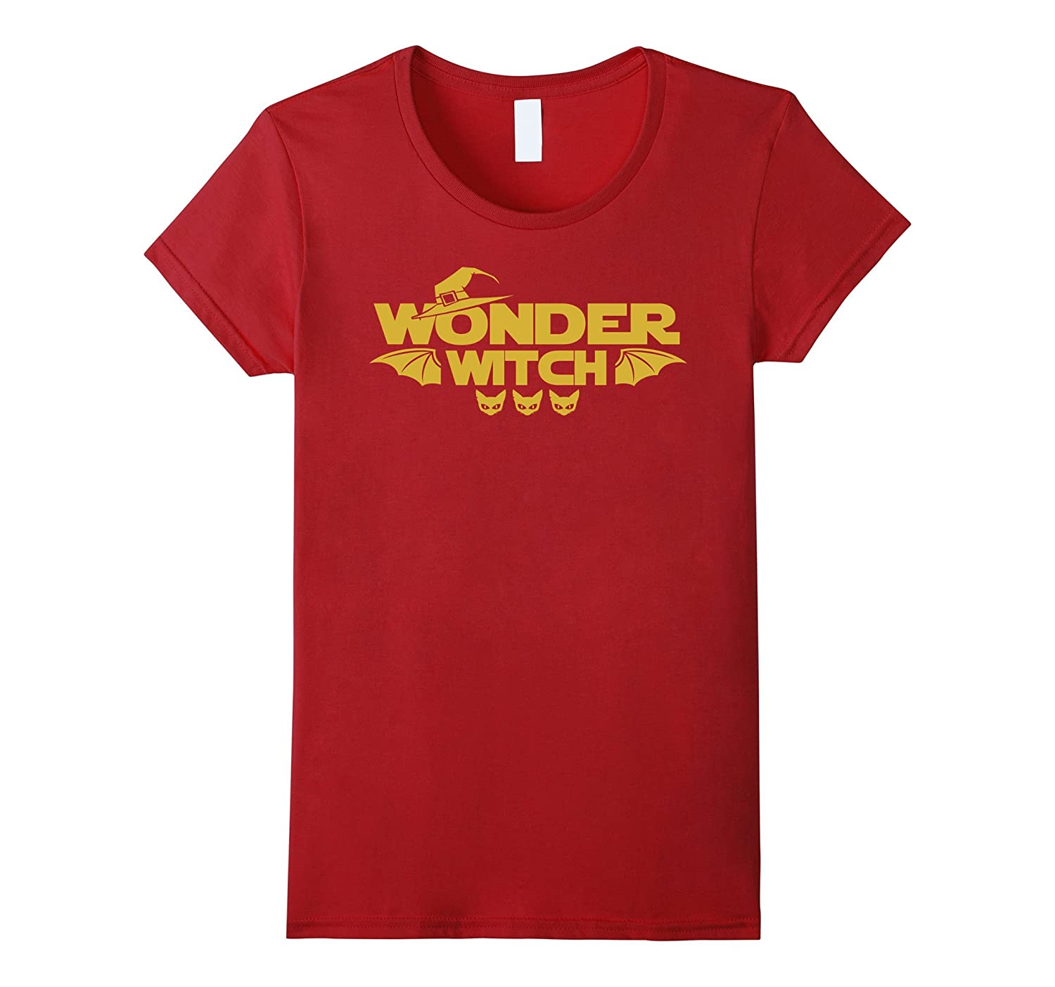 2a79faf7b Scary Wonder Witch Halloween T Shirt Gift-ANZ ⋆ Anztshirt