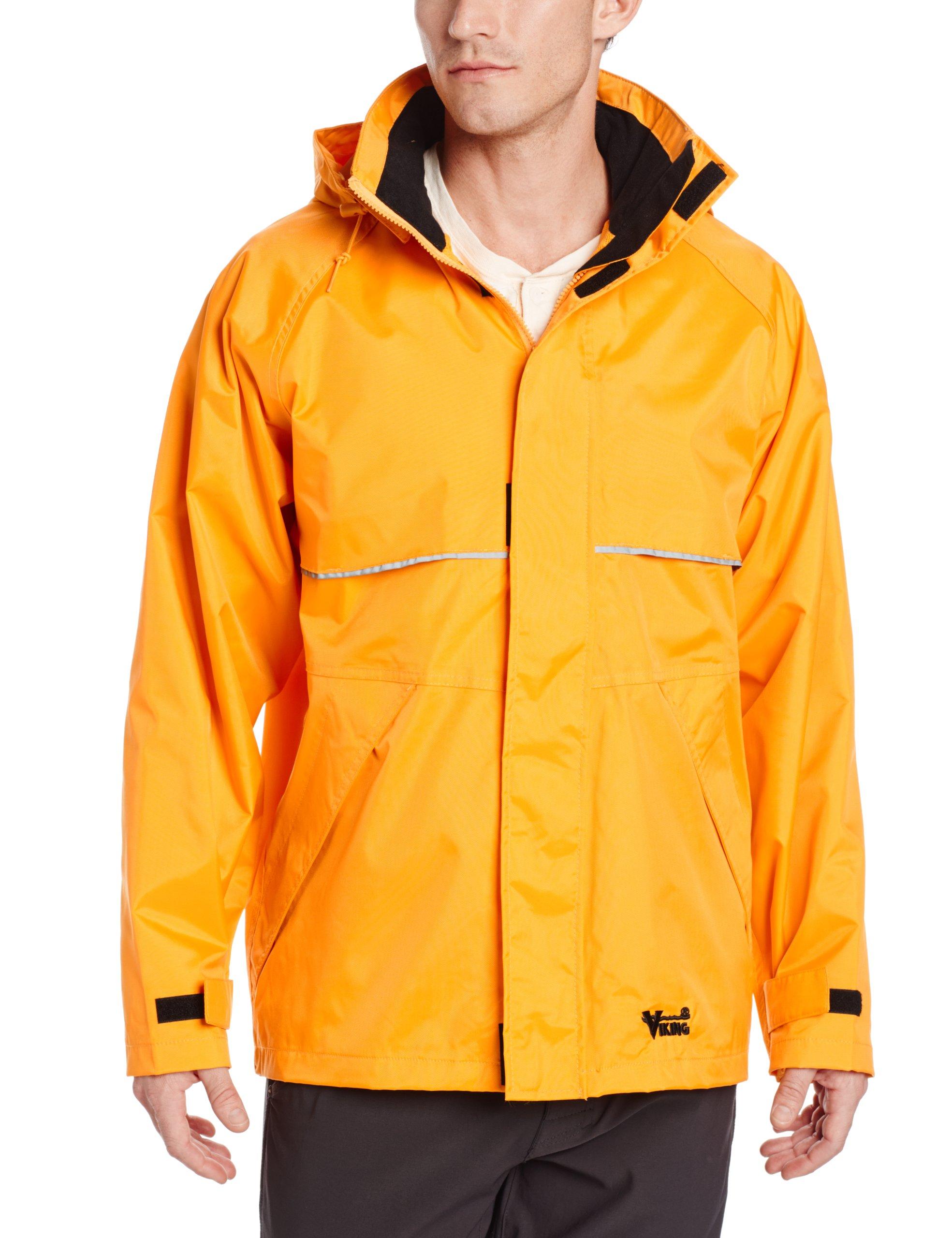 Viking Journeyman Waterproof Industrial Jacket, Yellow, Medium by Viking