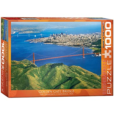 EuroGraphics Golden Gate Bridge, California Puzzle (1000-Piece): Toys & Games